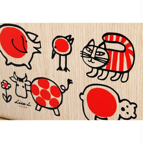 MAGAZINE RACK BABY MIKEY AND FRIENDS × SAITO WOOD