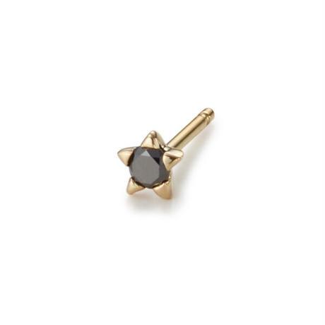 Minimal Star Pierce - BLACK