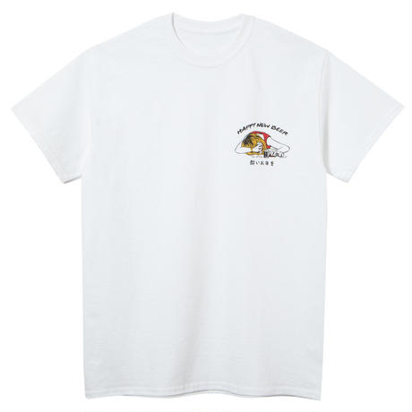 HAPPY NEW BEER S/S TEE WHITE