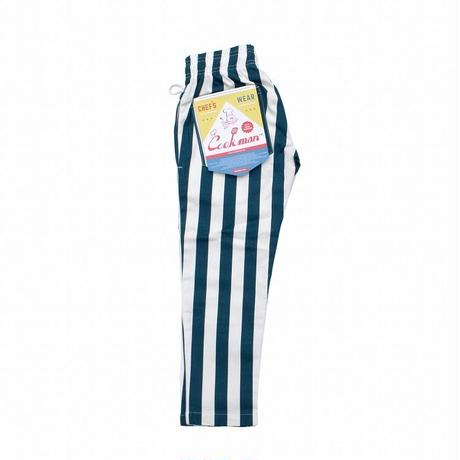 Kids Chef Pants - WIDE STRIPE NAVY