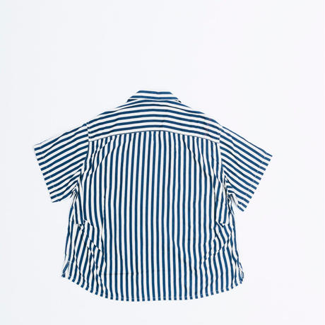 PT RAYON S/S RESIZE OPEN COLLAR SHIRT
