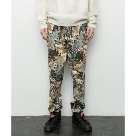 CAMOUFLAGE ELASTIC WAIST TROUSER