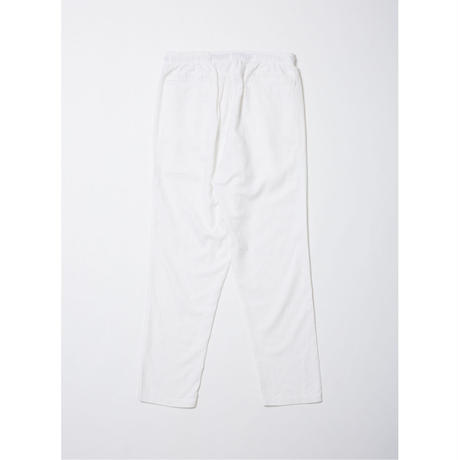 WASHED FLANNEL ELASTIC WAIST TROUSER