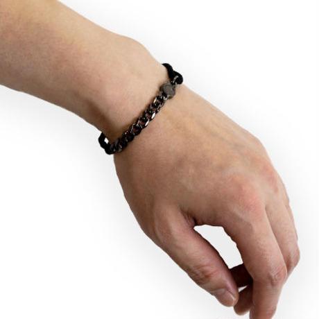 Chain & String Bracelet