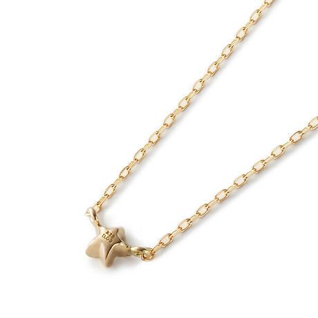 Minimal Star Necklace - BLACK