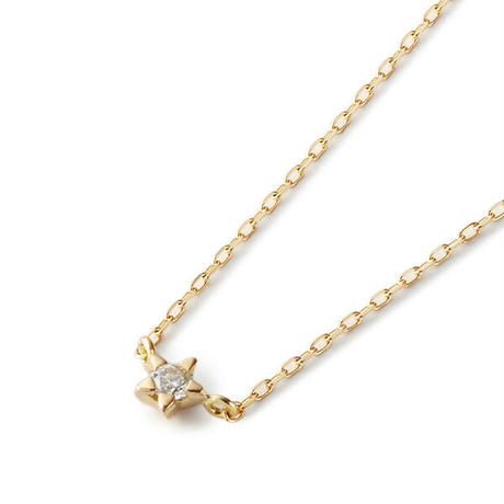 Minimal Star Necklace - CLEAR