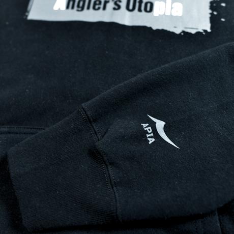 Angler's Utopia プルオーバーパーカ[ブラック]