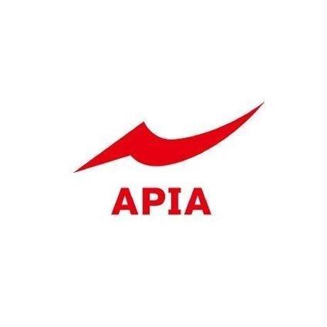 APIA カッティングシート(M)[ホワイト・レッド]
