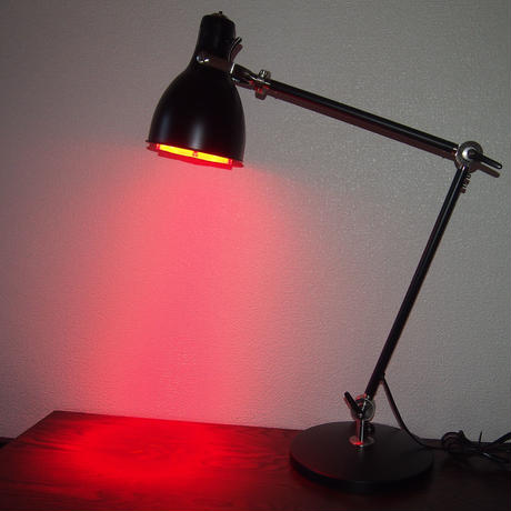 IKEA/イケア ARODワークランプ_EDライト・20W(可視光線630nm帯Red-Orenge_照射角15°)内臓