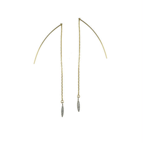tears pierced earrings(MQ)