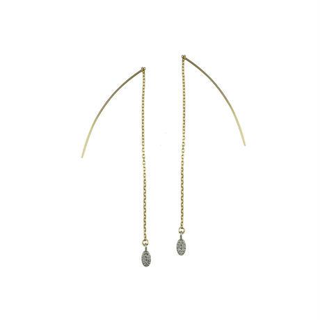 tears pierced earrings(OV)