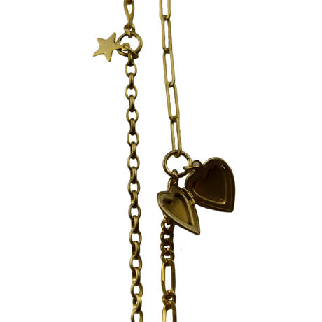 memory necklace  / heart