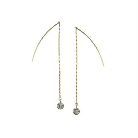 tears pierced earrings(RD)