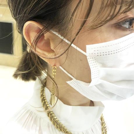 cone pierced earrings