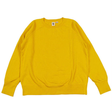 ※7.5 oz. USA FLEECE RAGLAN SWEAT -YELLOW- R185-0303