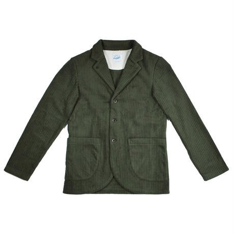 ※CORDUROY FLEECE JACKET -OLIVE- R183-0607