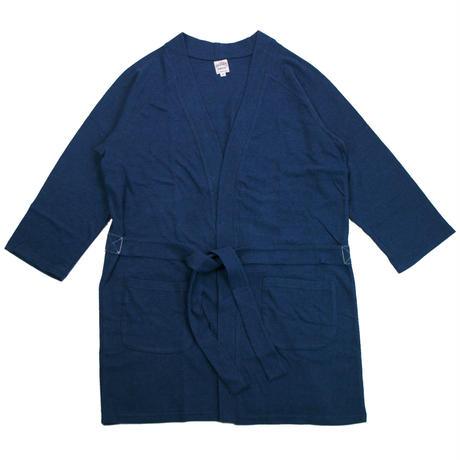 12/- JERSEY LONG CARDIGAN for men -MIX NAVY-