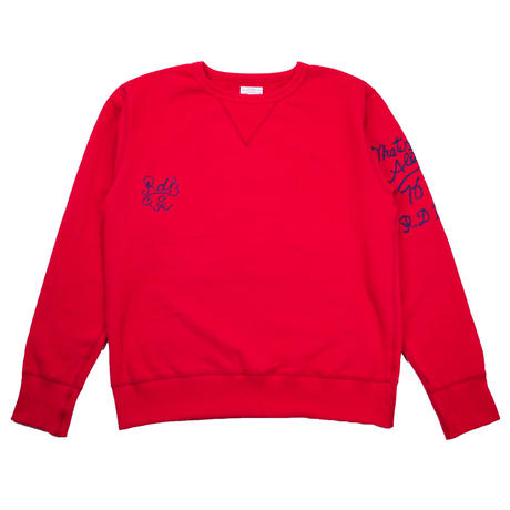 S※EMBROIDERY CREW NECK -2 COLORS- R183-0303