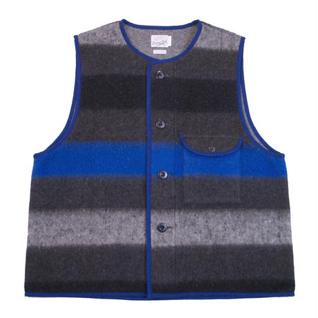 ※BLANKET FLEECE LAYERED VEST  -GRAY- R183-0602