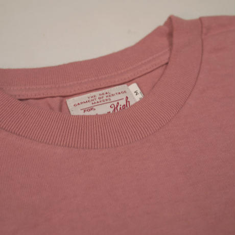 ※STANDARD PACK COLOR POCKET TEE -SMOKE PINK- R185-0103