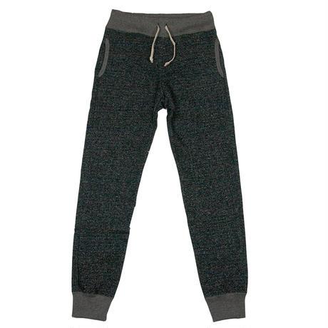 ※LOOPWHEEL SWEAT PANTS -MIX BLACK- R185-0501