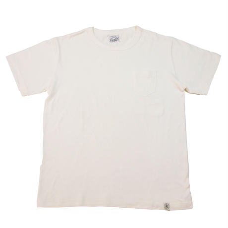 ※LOOPWHEEL POCKET T-SHIRTS -WHITE- R185-0101