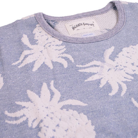 JACQUARD PINEAPPLE S/S SWEAT