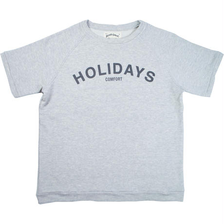 "※LOWGAUGE INLAY S/S TEE ""HOLIDAYS"" -3 COLORS- H191-0103"