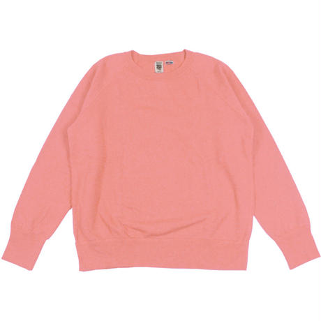 ※7.5 oz. USA FLEECE RAGLAN SWEAT  -SMOKE PINK- R185-0303