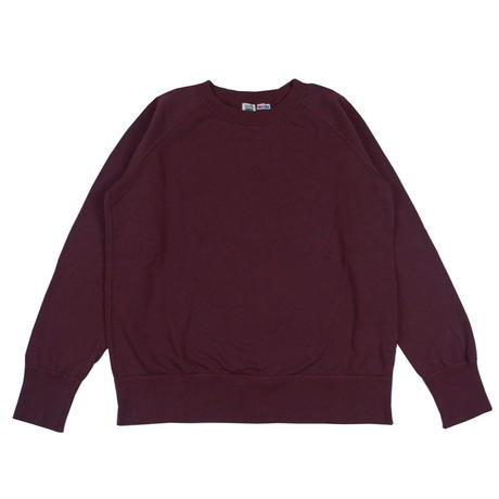 ※7.5 oz. USA FLEECE RAGLAN SWEAT -BURGUNDY- R185-0303