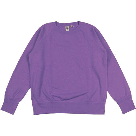 ※7.5 oz. USA FLEECE RAGLAN SWEAT  -SMOKE PURPLE- R185-0303