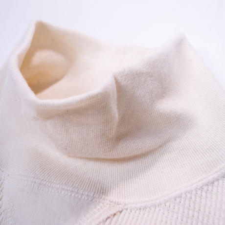 18/- WAFFLE TURTLE NECK -NATURAL-