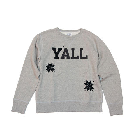 S※Y'ALL EMBROIDERY CREW SWEAT