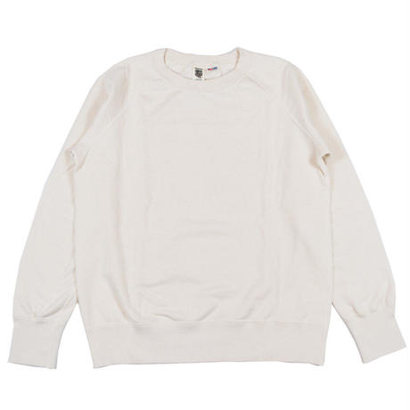 ※7.5 oz. USA FLEECE RAGLAN SWEAT -NATURAL- R185-0303