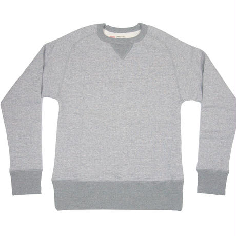 ※LOOPWHEEL CREW SWEAT -MIX GRAY- R185-0301