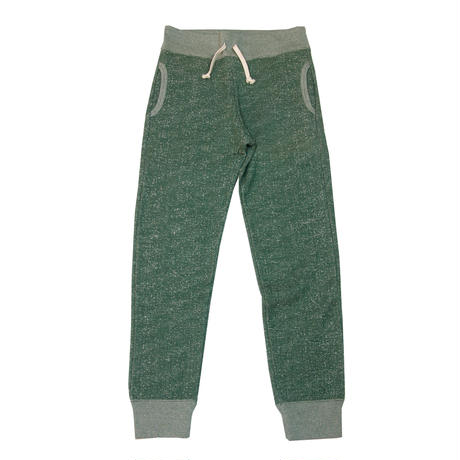 S※LOOPWHEEL SWEAT PANTS -MIX GREEN-