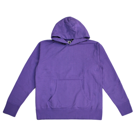 ※7.5 oz. USA FRENCH TERRY PARKA  -SMOKE PURPLE- R195-0401