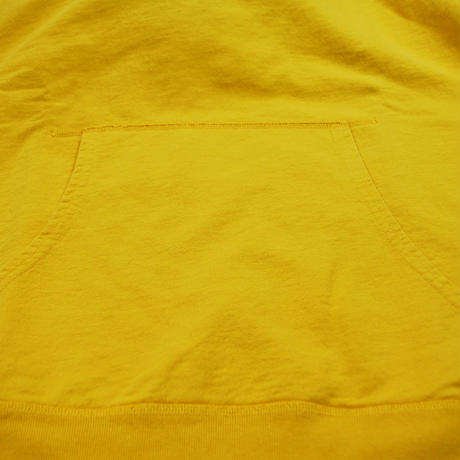 ※7.5 oz. USA FRENCH TERRY PARKA  -YELLOW- R195-0401