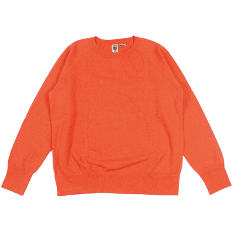 ※7.5 oz. USA FLEECE RAGLAN SWEAT  -ORANGE- R185-0303
