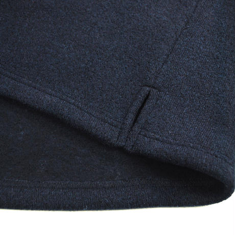※MERINGUE FLEECE CREW NECK -NAVY- H183-0301