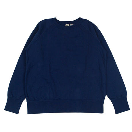 ※7.5 oz. USA FLEECE RAGLAN SWEAT -NAVY- R185-0303