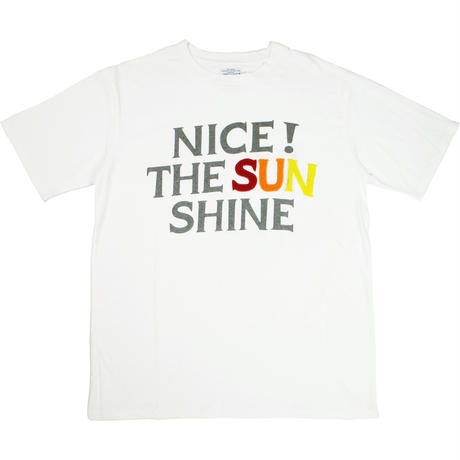 ※HANDLE EMBROIDERY S/S TEE  -3 GRAPHIC- R191-0102