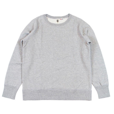 ※7.5 oz. USA FLEECE RAGLAN SWEAT -MIX GRAY- R185-0303