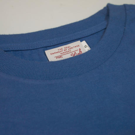 ※STANDARD PACK COLOR POCKET TEE -BLUE- R185-0103