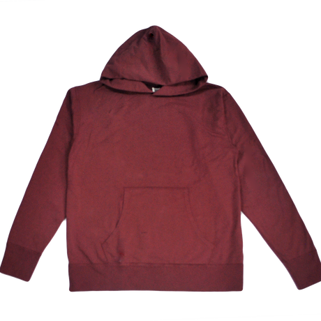 ※7.5 oz. USA FRENCH TERRY PARKA  -BURGUNDY- R195-0401