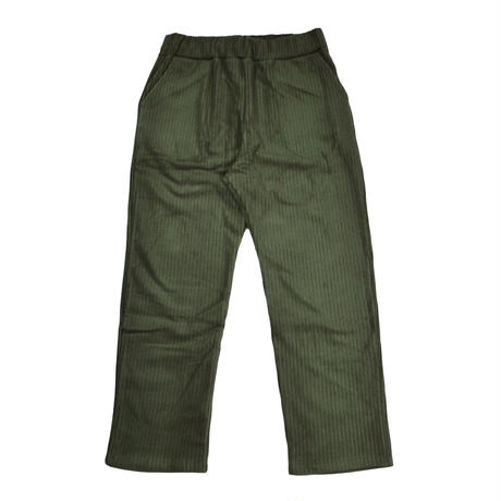 ※CORDUROY FLEECE TROUSERS -OLIVE- R183-0502