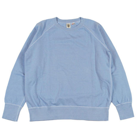 ※7.5 oz. USA FLEECE RAGLAN SWEAT -SAX- R185-0303