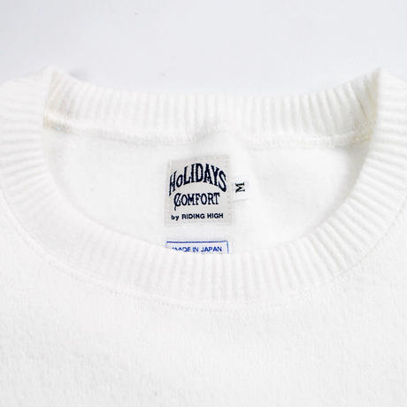 ※MERINGUE FLEECE CREW NECK -OFF WHITE- H183-0301