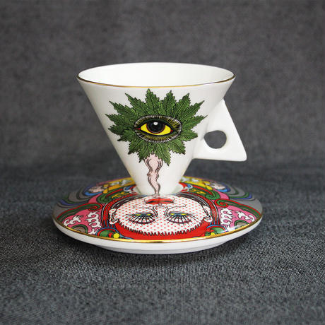 Keiichi Tanaami / Cup & Saucer #1