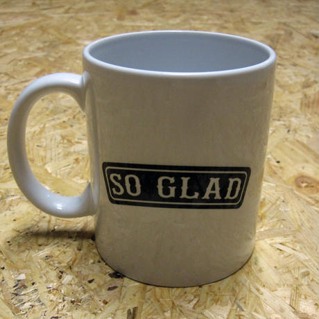 So Glad MUG LOGO Black